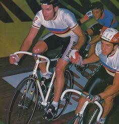 Grenoble Six-Day ´88, Tony Doyle & Greg Lemond