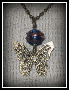 Butterfly Necklace 3