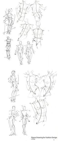 Fashion Drawing for Fashion Design...E. Drudi