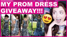 I'm Giving Away My Prom Dress!