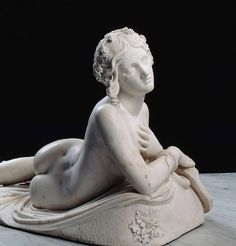 Dirce - Lorenzo Bartolini, c. 1824/ 1834, Marble. Louvre Museum