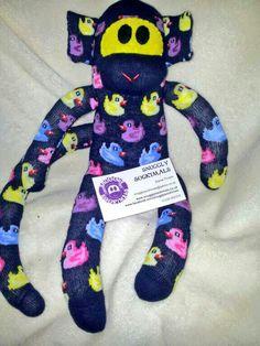 Sock Monkey Facebook.com/snugglysockimals