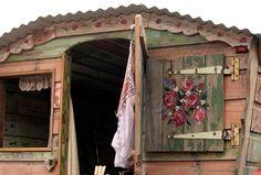 Velvet Wren gypsy wagon #wagon #boho #gypsywagon