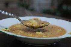 Fotorecept: Vločková polievka zo sójových bôbov