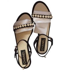 Sandales plates CHANEL