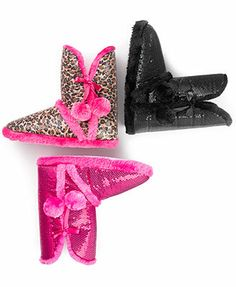 Sweet Slippers, Sparkle & Shine Bootie