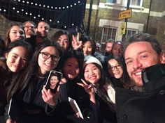 James McAvoy's loyal fans- from his instagram 11/13/16