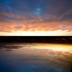 Jackie Van Duin Photo Art Skyline Reflection