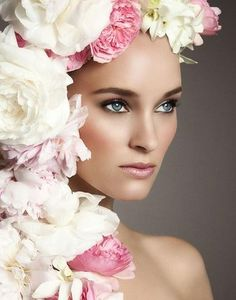 Flower Headdress | floral headdress mike ruiz photography see more about floral headdress ...