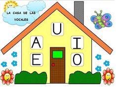 REPASAMOS LA LECTURA OS DEJO LA CASITA DE LAS VOCALES Y DE LAS CONSONANTES. CON ELLAS TRABAJAMOS EN CLASE, REPASANDO LAS LETRAS... Crafts For Kids, Diy Crafts, Rainbow Crafts, Conte, First Grade, Alphabet, Kindergarten, Classroom, Kids Rugs