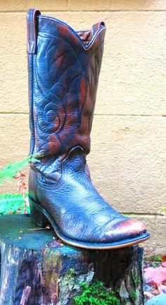 Acme, Cowboy Boots, Vintage, Brown, Leather, Women's, S6 #Acme #CowboyWestern