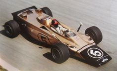 Emerson Fittipaldi at the 1971 Monza GP