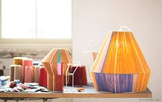 want to copy these Ana Kras lamps