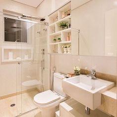 Só porque eu amo banheiros 😊❤️ autoria de Monise Rosa Arquitetura | @decorcriative meu insta: @lorefelima