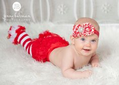 Christmas leg warmers baby leg warmers girls by ThinkPinkBows