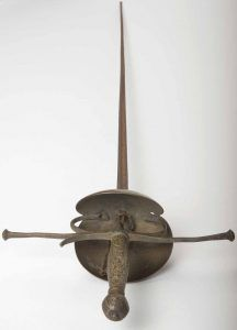 """Peter O'Toole's rapier from Laurence Olivier's """"Hamlet,"""" the debut production of the National Theatre, 1963 Royal Shakespeare Company, William Shakespeare, Spike Milligan, David Lean, My Favorite Year, Film Script, Peter O'toole, Jeremy Irons, Lawrence Of Arabia"""