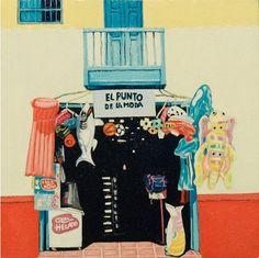 """Fragmento de """"El pueblo y el guayacán""""  Santa Fe de Antioquia Movie Posters, Movies, Art History, Faith, Colombia, Pintura, Artists, Films, Film Poster"""