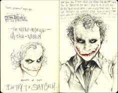 Epic Joker art and writing