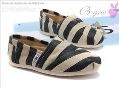 00c12217f2c Toms Classic Shoes Womens Zebras Natural Burlap   Toms Outlet Online