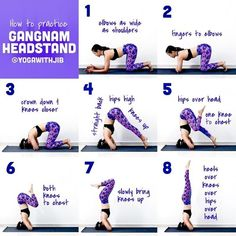 Smart tips for a funky headstand! 🙃 How does playing with this crossed-arm variation light up your awareness of your body as it's upside down in space? 🤯 Tag your inversion junkie yogis to try this headstand together! Love Fitness, Fitness Tips, Fitness Motivation, Yoga Sequences, Yoga Poses, Yoga Headstand, Handstand, Routine, Stress
