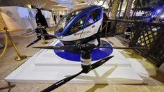 Dubaiul va avea primul serviciu de taxi asigurat cu ajutorul dronelor (VIDEO)
