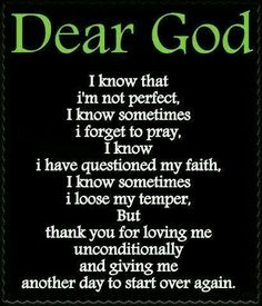 Dear God...Thank You!! NEW Beginnings!