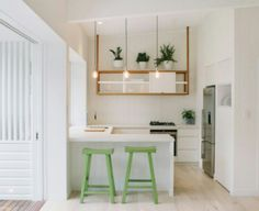 Ideas for small kitchen cabinets stools for small kitchen island design for small kitchen with island Futuristisches Design, Deco Design, Layout Design, Design Ideas, Floor Design, Small U Shaped Kitchens, G Shaped Kitchen, Small Unit Kitchens, U Shaped Kitchen With Breakfast Bar