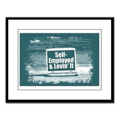 Self employed Large Framed Print  #self-employed #lovin'it #lovin #self #tshirt #sweatshirt #mug #bag #curtain #hoodie #profession #phonecase #clock #watch #cards #gifts #vneck #funny