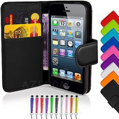 Flip #wallet #leather case cover for apple iphone 4 4s free screen #protector,  View more on the LINK: 	http://www.zeppy.io/product/gb/2/181699850929/