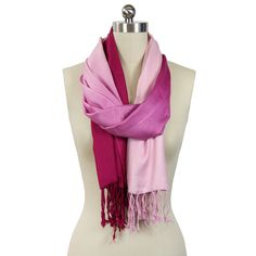 Ombre Scarf Pink