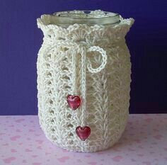 How To Crochet A Shell Stitch Purse Bag - Crochet Ideas Crochet Cozy, Love Crochet, Crochet Gifts, Crochet Doilies, Crochet Yarn, Crochet Jar Covers, Crochet Kitchen, Crochet Accessories, Crochet Projects