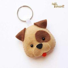 Apostila Digital - Vira-Lata - Cachorrinho em feltro Pocket, fácil confeção.