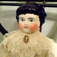 "20"" Alt Beck & Gottschalk ABG Highland Mary China head doll Original clothes Goldsmith body with corset"
