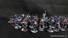 Black Brush Studio - Miniature painting services: Infinity - Aleph in Purple color scheme.