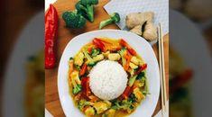 "Gefällt 194 Mal, 6 Kommentare - Meral (@dinnerfor2_) auf Instagram: ""My recipes are in turkish, german and english😊! ---------- 🍽Hindistan cevizi sütlü tavuk wok🍽 🇹🇷 M…"""