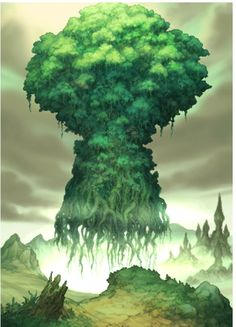 "Legend of Mana - ""Stars spin as they fall, when you're trying to catch your breath."""