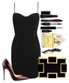 Untitled #1375 by fabianarveloc on Polyvore featuring polyvore fashion style Alexander Wang Christian Louboutin Sondra Roberts Givenchy Lancôme MAC Cosmetics Marc Jacobs clothing
