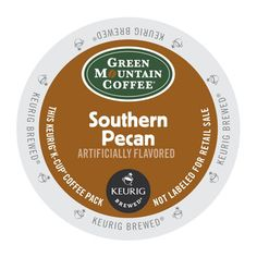 Green Mountain Coffee® Southern Pecan Coffee K-Cup® Pod