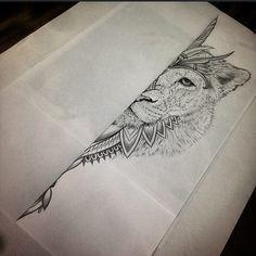 zentangle panteras tattoo - Buscar con Google