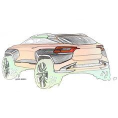 """좋아요 0개, 댓글 1개 - Instagram의 SB.DESIGN(@sb.design.066)님: """"Mid-SUV sketch. #sketch #cardesign #drawing #doodle"""""""