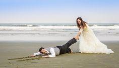 Ensaio pré casamento, Save The Date, foto noivos praia, casamento na praia, pré wedding - Ensaio pré casamento, Save The Date, foto noivos praia, casamento na praia, pré wedding