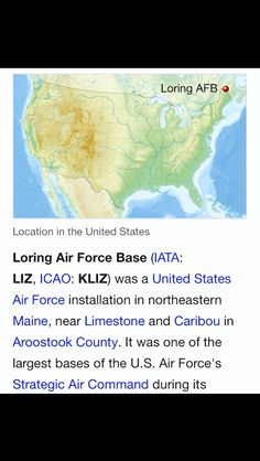 39 Best Loring Afb Limestone Me Images In 2019 Maine Military