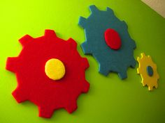 Imagination Movers Gears Wall Decor