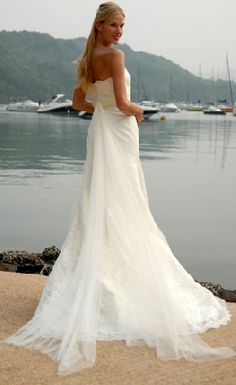 Wedding Dress Hawaii Beach Attire Photos Pictures