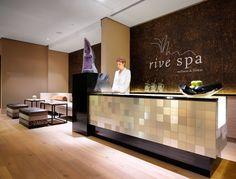 spa reception   Piastrelle alluminio Alulife SPA reception
