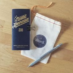 It's so small and perfect... Can't wait to put it to use in the new year. Nice work @wordnotebooks @joncontino #wordnotebooks by reclusivereader