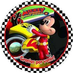 Resultado de imagen para mickey sobre ruedas cumpleaños