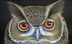 Sleepy Owl by HouseofChabrier