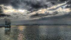 Amanecer en la bahía