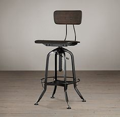 vintage toledo barstool polished chrome love this for the kitchen
